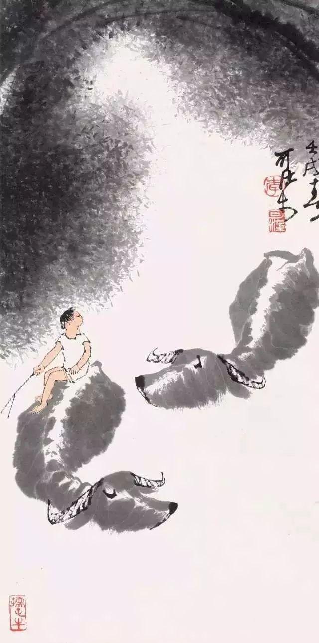 最牛试卷图_李可染原来是这样画牛的!(含珍贵视频)-美术综合_美术网 Mei ...